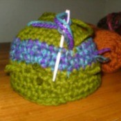 Crocheted Container
