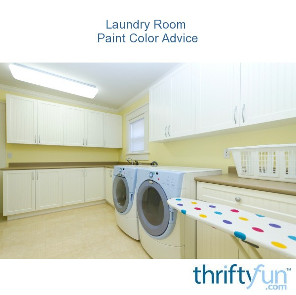Laundry room paint color advice thriftyfun - Best colors for a laundry room ...