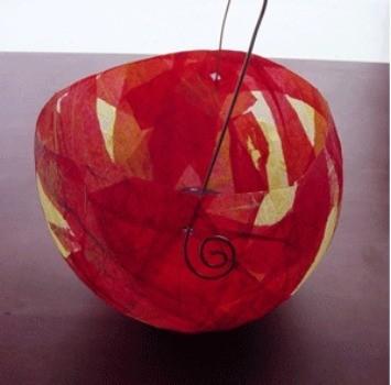 making paper mache lanterns thriftyfun