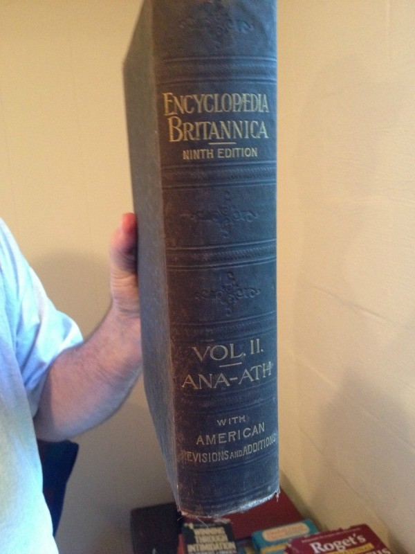 One of the volumes.