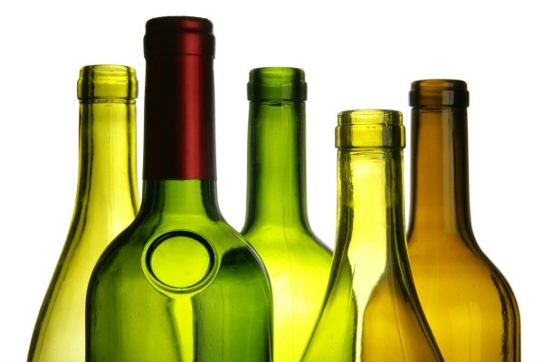 Finding empty wine bottles thriftyfun - Empty colored wine bottles ...