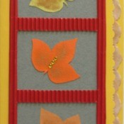 Fall Leaves Birthday Card