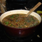 Italian Lentil and Swiss Chard Soup