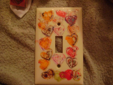 Light Switch Plate Fall Craft