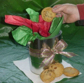 Paint Can Cookie Jar