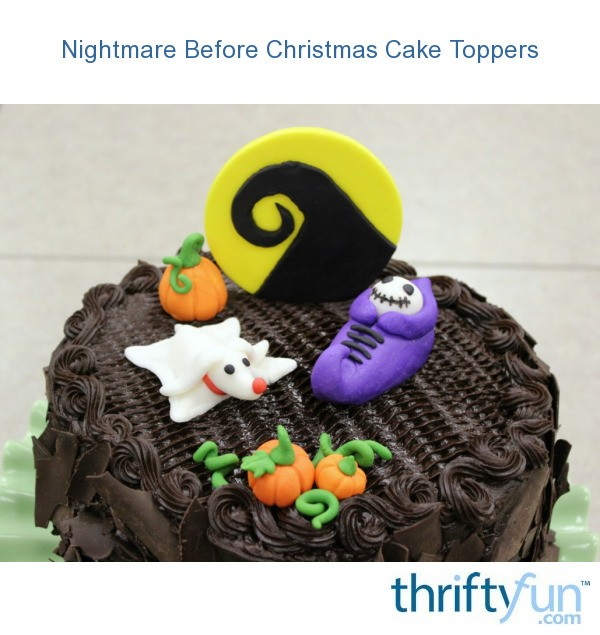 Nightmare before christmas cake toppers thriftyfun