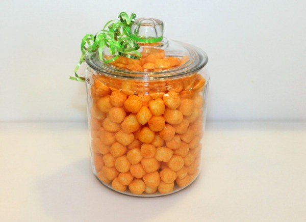 cheese ball in jar