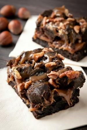 Caramel Pecan Brownie Recipes | ThriftyFun