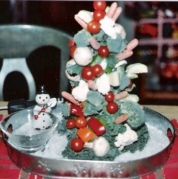 Holiday Veggie or Fruit Tree