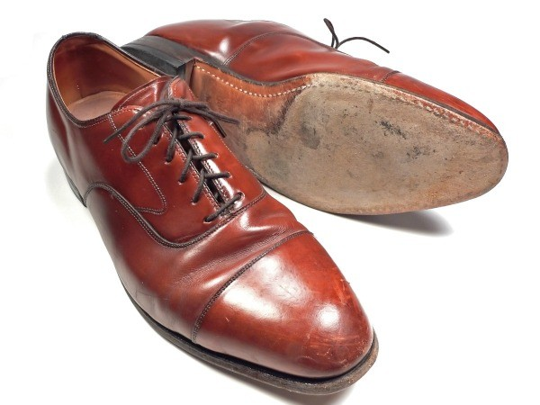 Leather Shoes Have White Marks