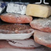 Meat in Freezer