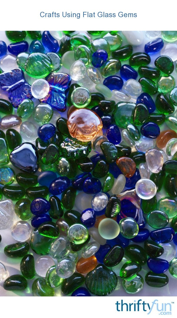 crafts using flat glass gems thriftyfun