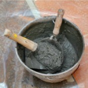 Mixing Concrete at Home