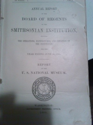 Cover page of report.