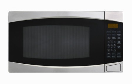 Photo of a microwave oven.