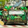 St. Patrick's Day Parade Float