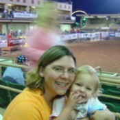 Rebecca at the Rodeo