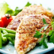 Atkins Diet Chicken Breast Meal