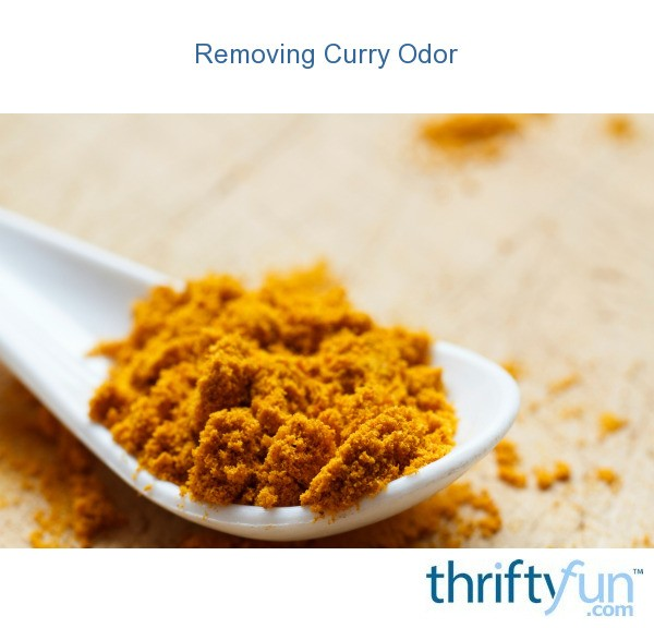 Removing curry odor thriftyfun for How to get rid of fish odor syndrome
