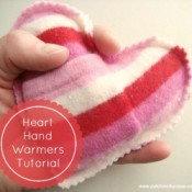 Heart Hand Warmers Tutorial