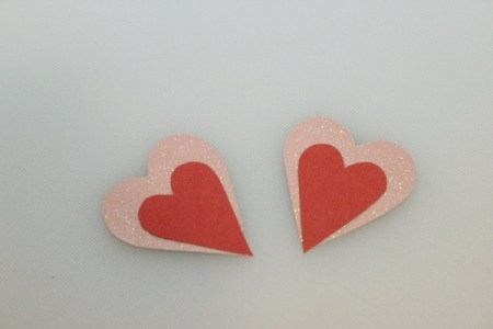 glue hearts together