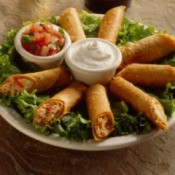 Chicken Taquito Appetizers
