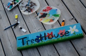 Treehouse Sign