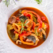 Spicy Soup With Peppers