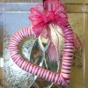 Yarn Wrapped Heart Wreath