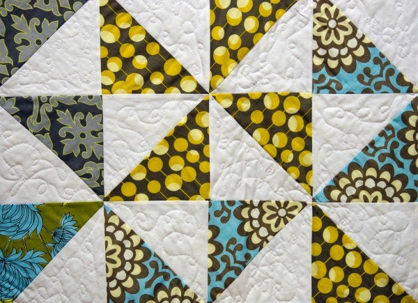 Square Triangle Quilt