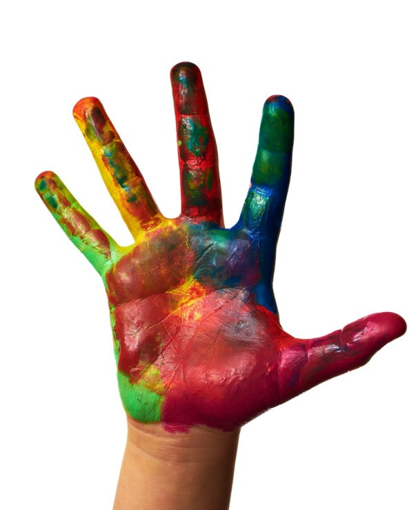 paint stained hands this is a guide about removing paint from hands. Black Bedroom Furniture Sets. Home Design Ideas
