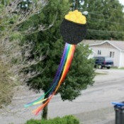 No-Sew Pot O' Gold Wind Catcher