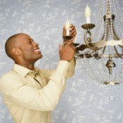 Revamping a  Chandelier