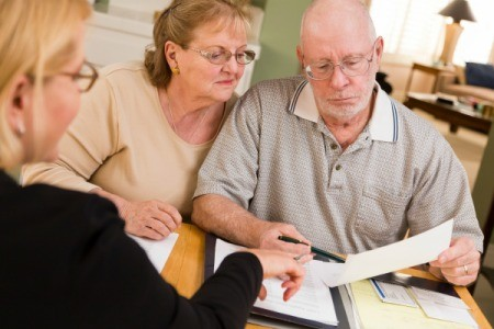 Couple Reviewing Medicare Insurance