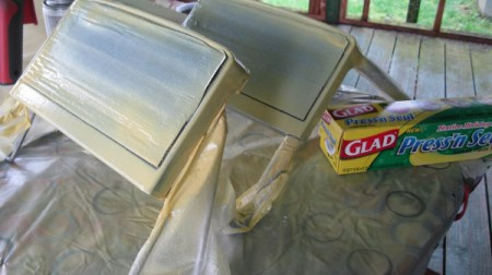 Masking Paint with Press and Seal