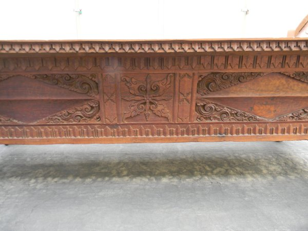 Decorative side panel.
