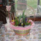 Easy Easter/Spring Centerpiece