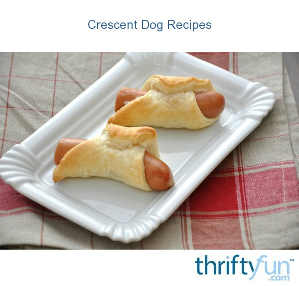 how to make crescent hot dogs