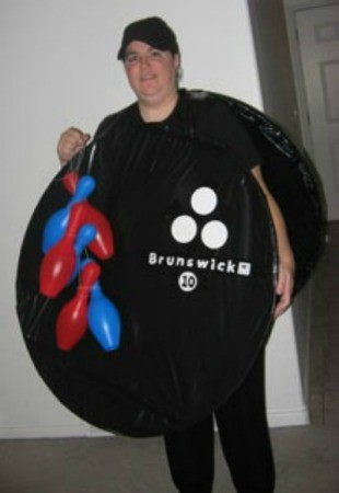 Bowling Ball and Pin Costume