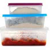 Food in Tupperware