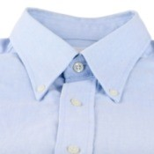 Nice light blue dress shirt.