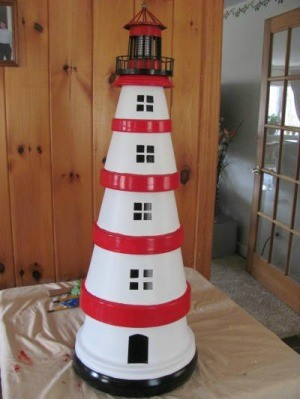 Terra Cotta Lighthouse