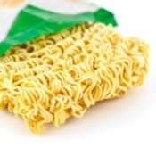 Package of Ramen Noodles