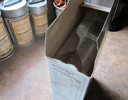 Preventing Cereal Box Spills
