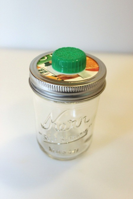 Mason Jar Snack Container