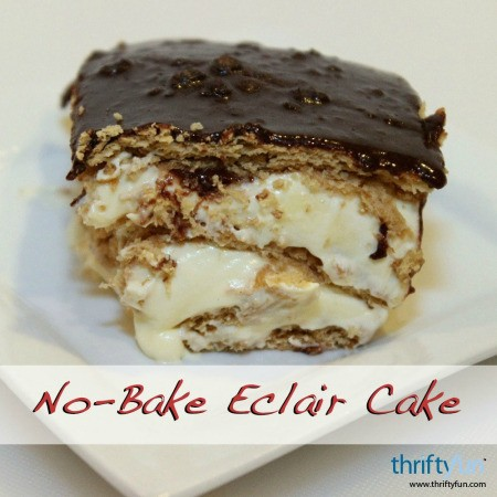 No-Bake Eclair Cake Recipes