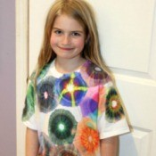 Sharpie Tie Dyed T-shirt