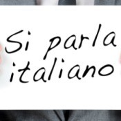 we speak italian si parka italiano