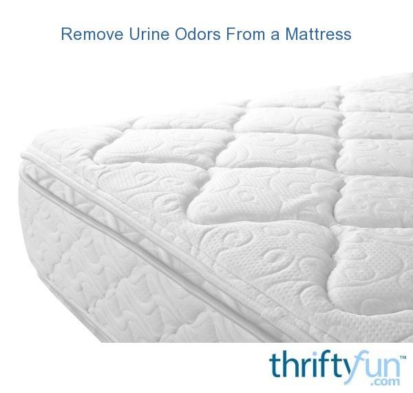 Remove Urine Odors from a Mattress | ThriftyFun
