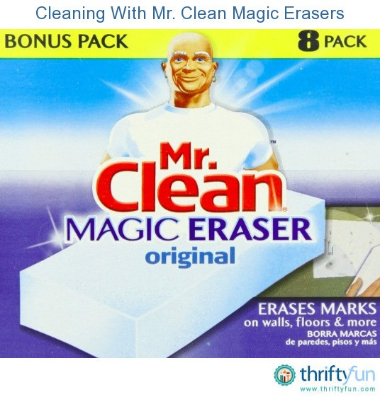cleaning with mr clean magic erasers thriftyfun. Black Bedroom Furniture Sets. Home Design Ideas